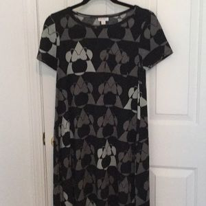 LuLaroe Minnie Mouse Carly Dress Size-XXS